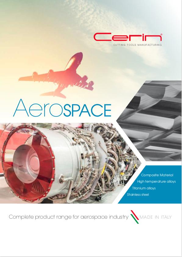 Portada catálogo Aerospace