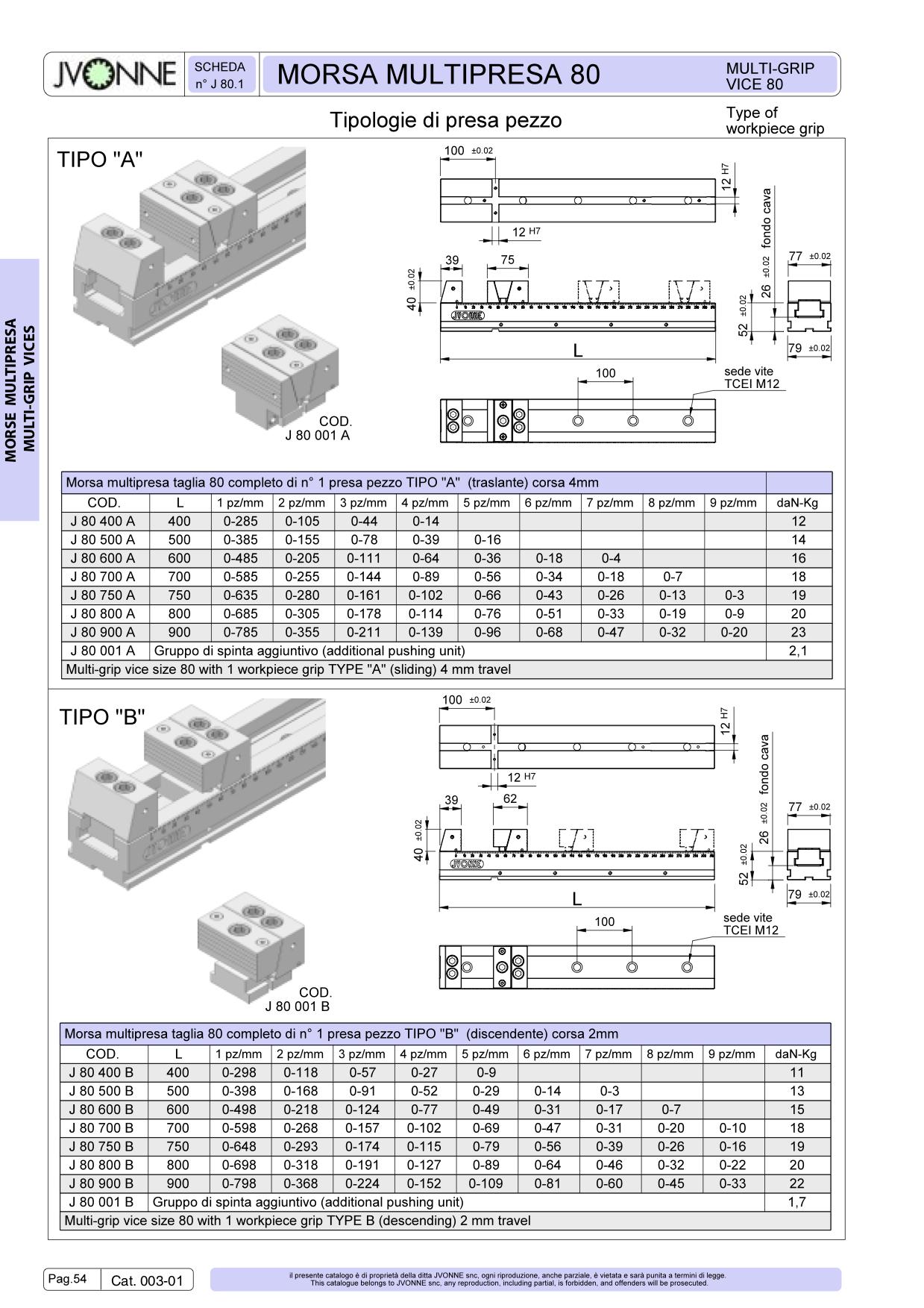 Catálogo Morse